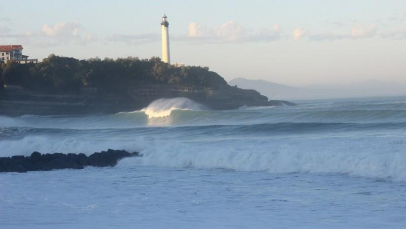 Surf report Anglet Surf Club - France (64) 2015-11-01 09:00:00