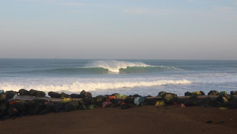 Surf report Anglet Sables d'Or - France (64) 2015-11-02 09:00:00