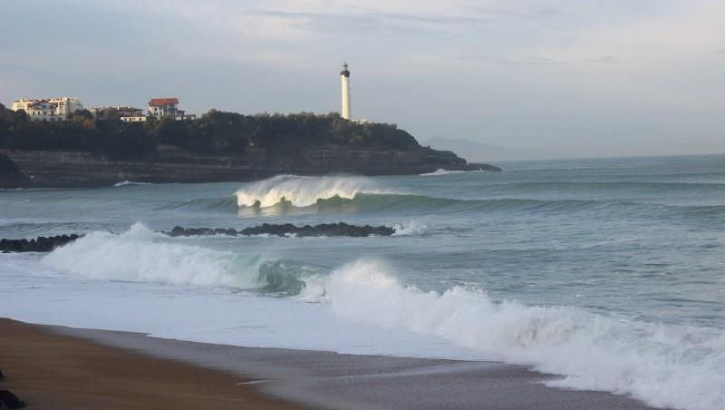 Surf report Anglet Sables d'Or - France (64) 2015-11-02 09:00:00