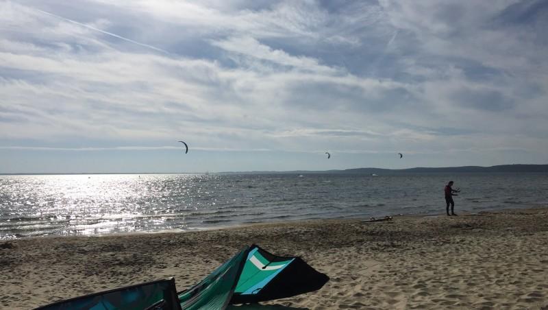 Wind report Cazaux - France (33) 2015-11-02 18:00:00