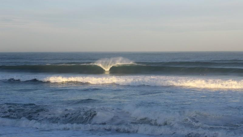 Surf report Anglet Surf Club - France (64) 2015-11-04 09:00:00