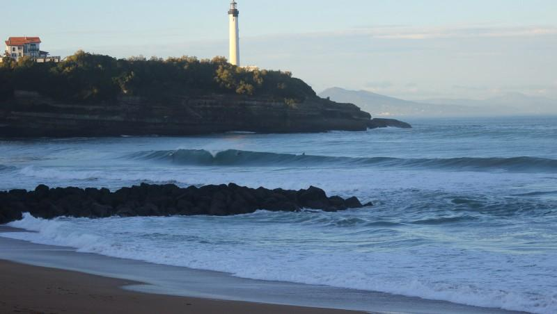 Surf report Anglet VVF - France (64) 2015-11-05 09:00:00