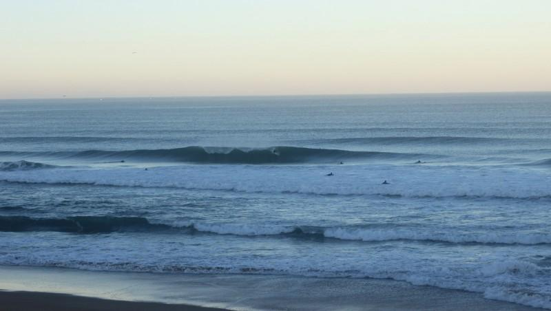 Surf report Anglet Surf Club - France (64) 2015-11-08 09:00:00