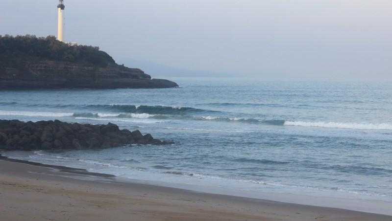 Surf report Anglet Surf Club - France (64) 2015-11-09 09:00:00