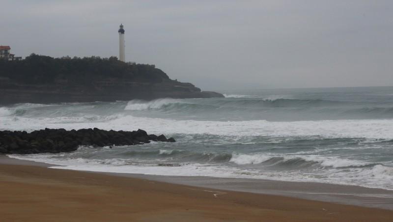 Surf report Anglet VVF - France (64) 2015-11-12 09:00:00