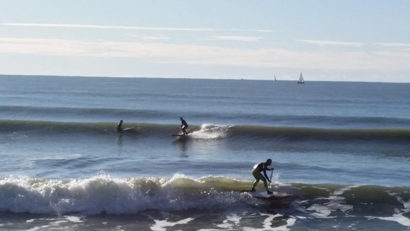 Surf report St Gilles-Croix-de-Vie - France (85) 2015-11-22 14:00:00