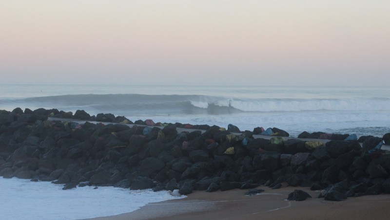 Surf report Anglet Surf Club - France (64) 2015-12-05 10:00:00