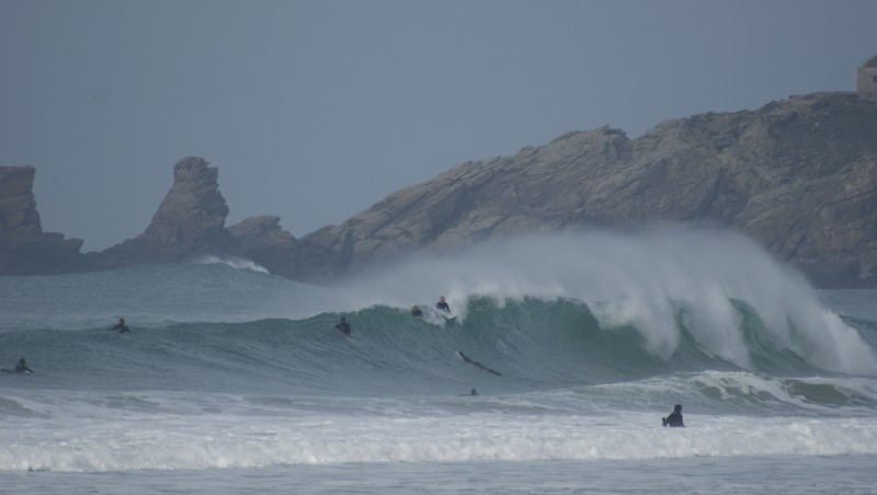 Surf report Quiberon - Port Rhu - France (56) 2015-12-13 10:00:00