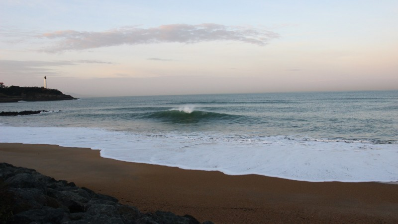 Surf report Anglet Surf Club - France (64) 2015-12-16 09:00:00