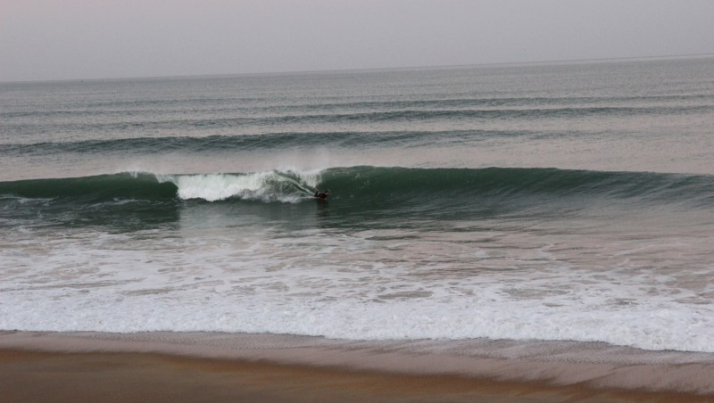 Surf report Anglet Surf Club - France (64) 2015-12-19 10:00:00