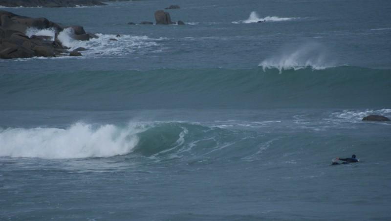 Surf report La Mauvaise Grève - France (29) 2015-12-27 09:00:00