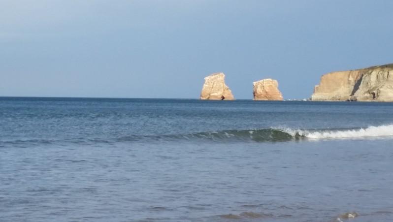 Surf report Hendaye - France (64) 2015-12-28 16:00:00