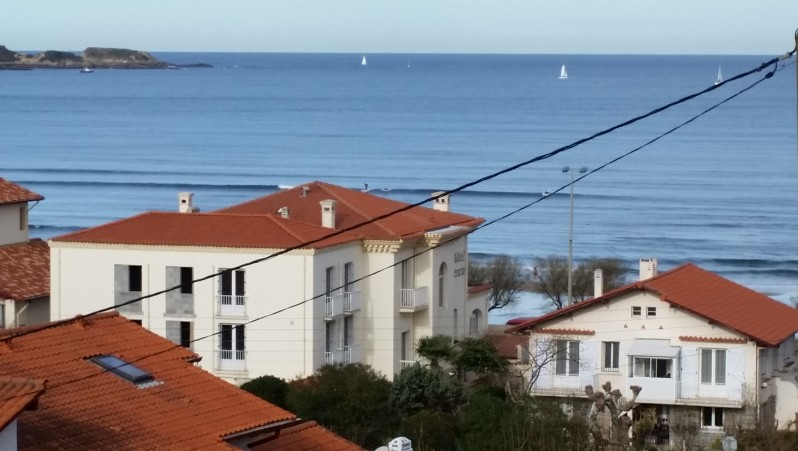 Surf report Hendaye - France (64) 2015-12-29 12:00:00
