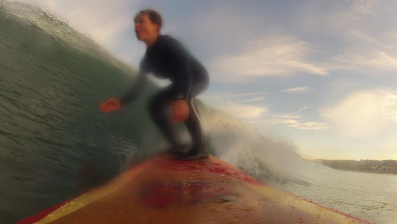 Surf report Hendaye - France (64) 2015-12-30 10:00:00