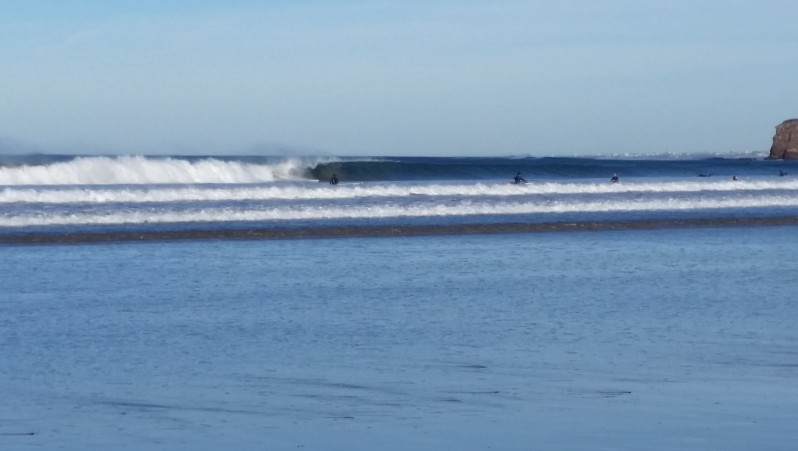 Surf report Hendaye - France (64) 2015-12-30 15:00:00