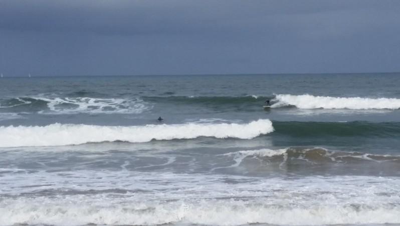 Surf report Hendaye - France (64) 2015-12-31 11:00:00