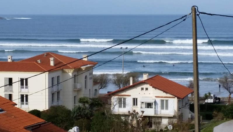 Surf report Hendaye - France (64) 2015-12-31 14:00:00