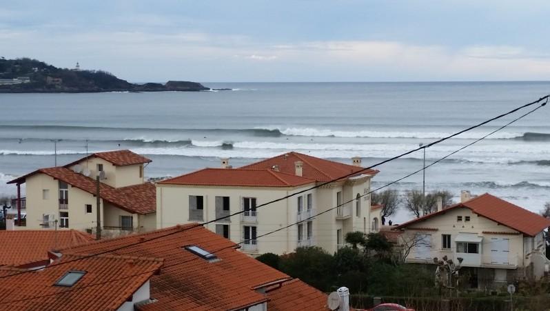 Surf report Hendaye - France (64) 2016-01-01 15:00:00