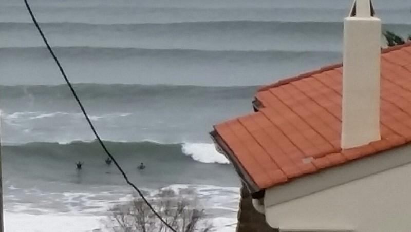 Surf report Hendaye - France (64) 2016-01-03 11:00:00