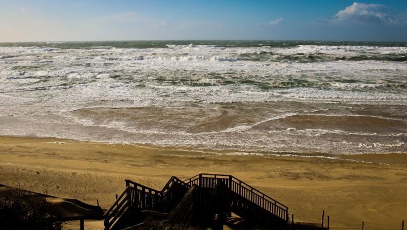 Wind report Biscarrosse Plage - France (40) 2016-01-11 14:00:00