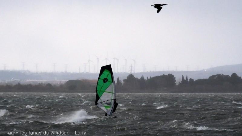 Wind report Le Barcarès - Cap Coudalère  - France (66) 2016-01-15 18:00:00