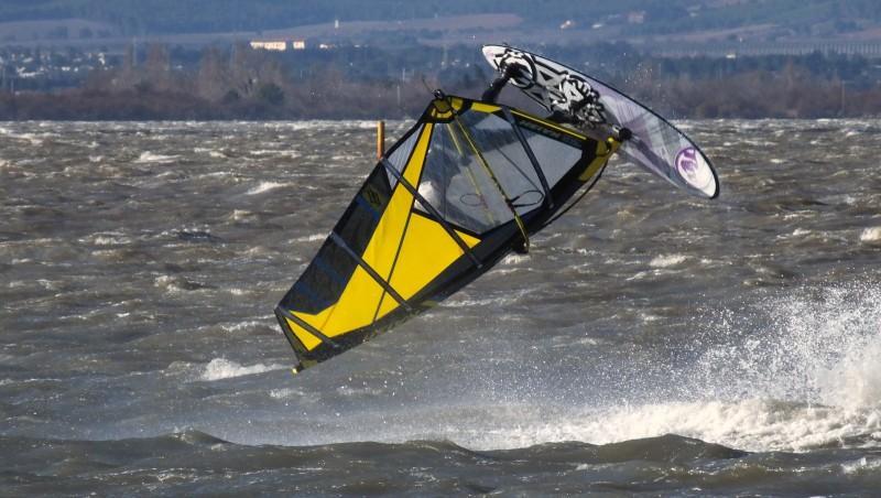 Wind report Le Barcarès - Cap Coudalère  - France (66) 2016-01-16 17:00:00