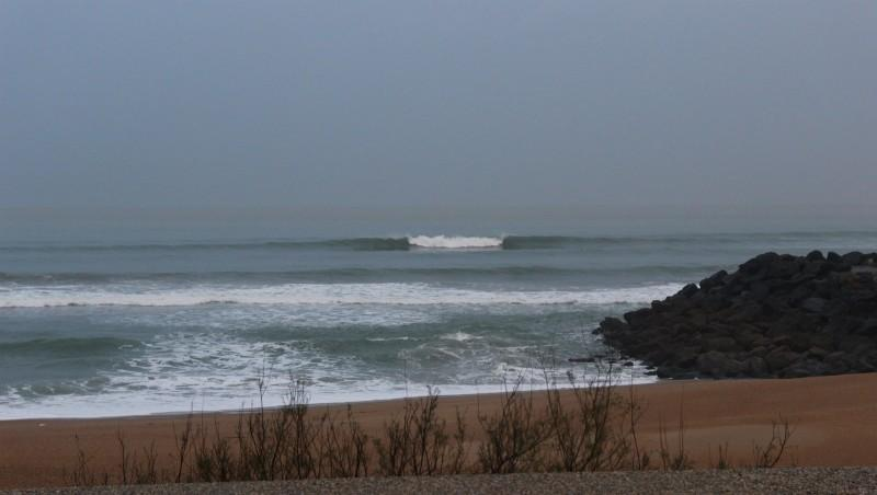 Surf report Anglet Surf Club - France (64) 2016-01-22 09:00:00