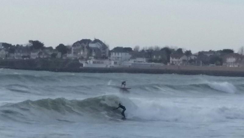 Surf report St Gilles-Croix-de-Vie - France (85) 2016-01-24 15:00:00