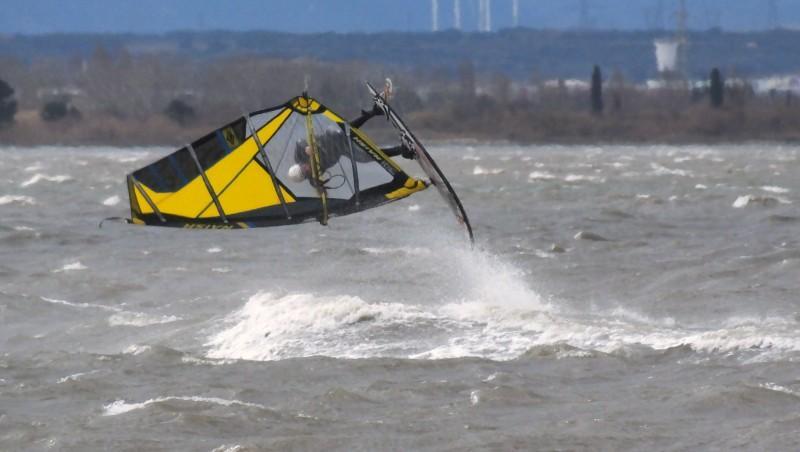 Wind report Le Barcarès - Cap Coudalère  - France (66) 2016-01-31 18:00:00