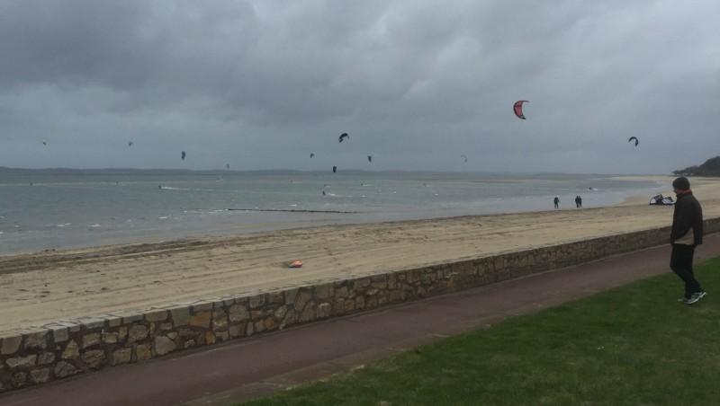 Wind report Arcachon - Les Arbousiers - France (33) 2016-01-30 14:00:00