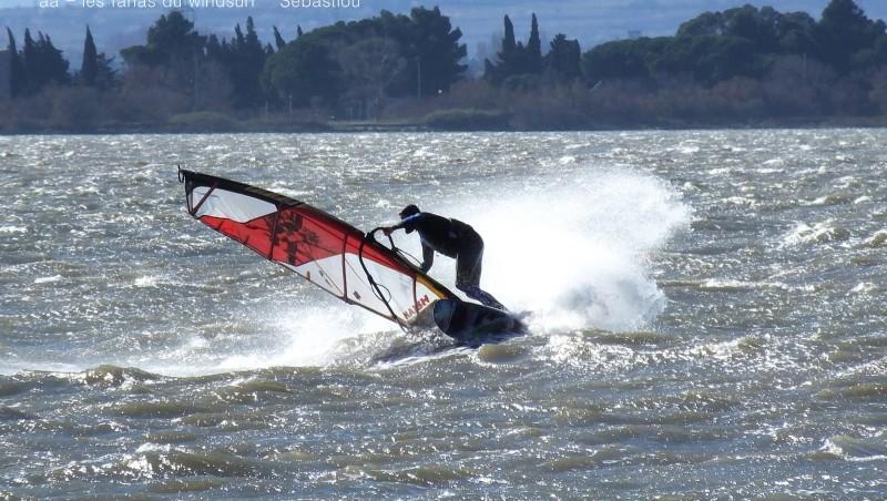 Wind report Le Barcarès - Cap Coudalère  - France (66) 2016-02-04 17:00:00