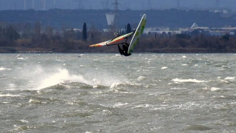 Wind report Le Barcarès - Cap Coudalère  - France (66) 2016-02-07 18:00:00