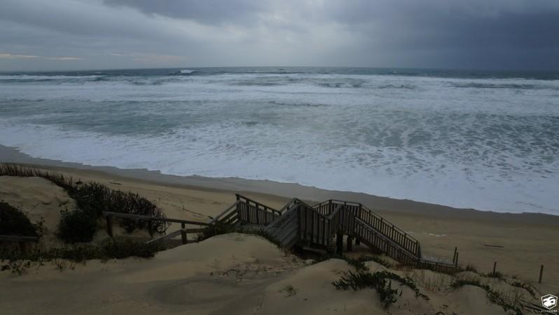 Surf report Biscarrosse Plage - France (40) 2016-02-08 17:00:00