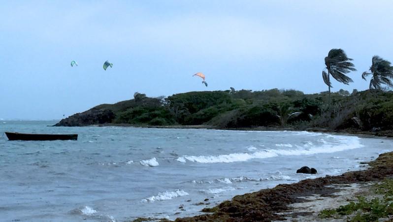 Wind report Cap Chevalier - Martinique (MQ) 2016-02-10 14:00:00