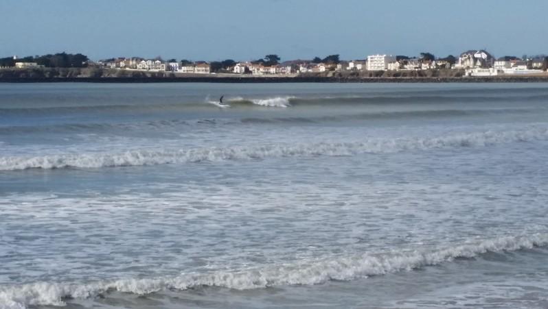 Surf report St Gilles-Croix-de-Vie - France (85) 2016-02-16 13:00:00