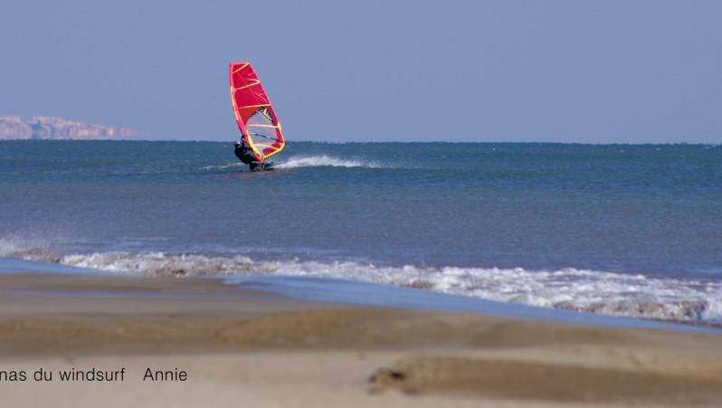 Wind report Port-la-Nouvelle - Plage Nord - France (11) 2016-02-17 17:00:00