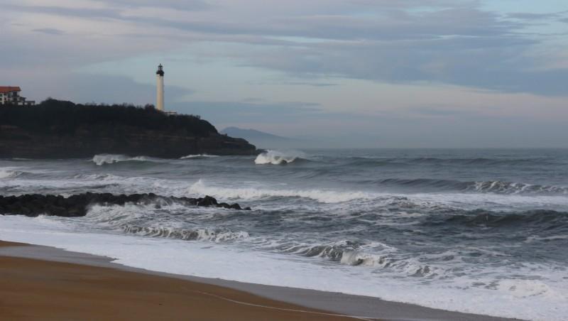 Surf report Anglet Sables d'Or - France (64) 2016-02-24 09:00:00