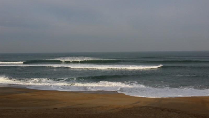 Surf report Anglet VVF - France (64) 2016-03-18 09:00:00