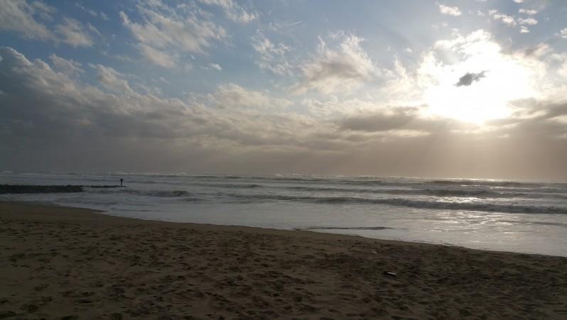 Surf report Mimizan - Plage du Courant - France (40) 2016-03-28 19:00:00