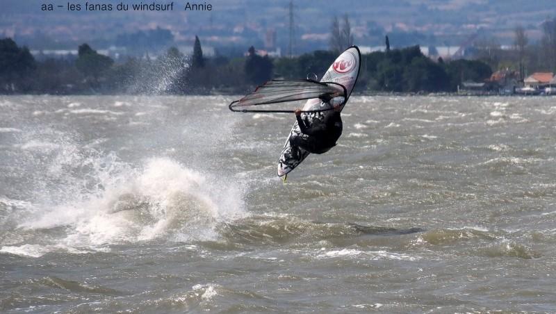 Wind report Le Barcarès - Cap Coudalère  - France (66) 2016-04-06 17:00:00