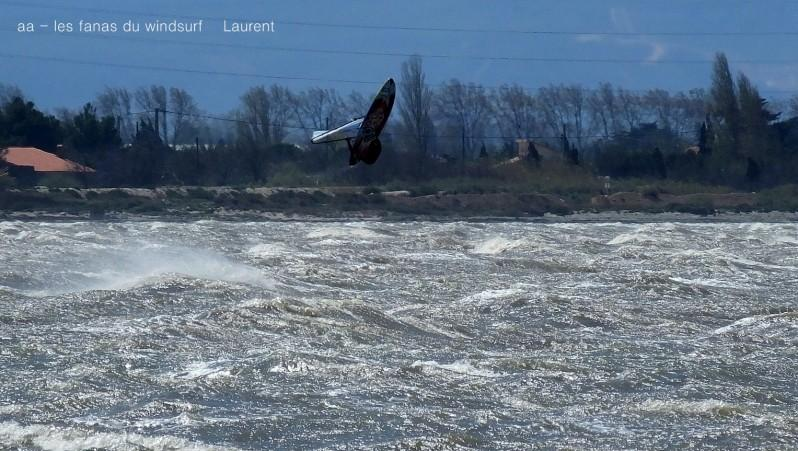 Wind report Le Barcarès - Cap Coudalère  - France (66) 2016-04-08 16:00:00