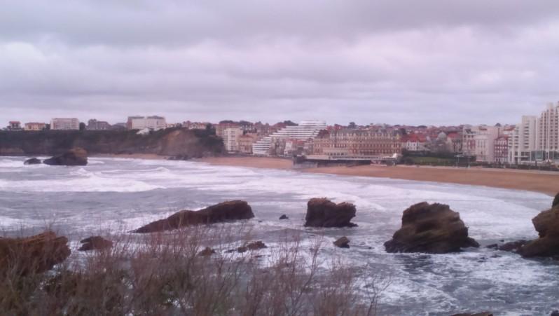 Surf report Biarritz - Grande Plage - France (64) 2016-04-09 15:00:00