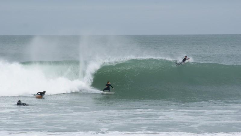 Surf report Cap Frehel (Poori) - France (22) 2016-04-10 10:00:00