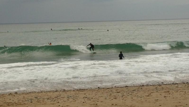 Surf report Bidart Centre - France (64) 2016-04-14 18:00:00