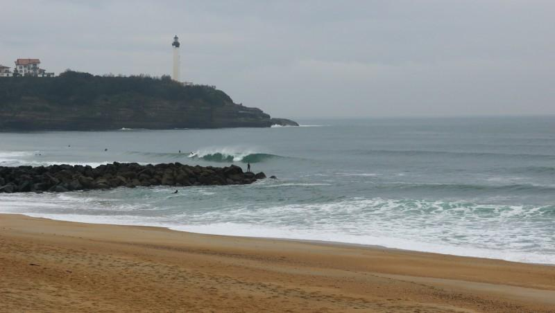 Surf report Anglet Surf Club - France (64) 2016-04-15 09:00:00