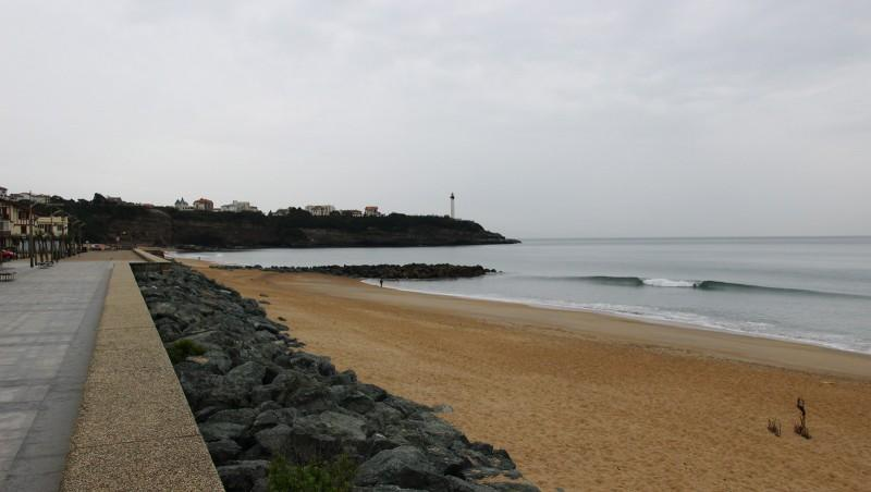 Surf report Anglet Sables d'Or - France (64) 2016-04-20 10:00:00