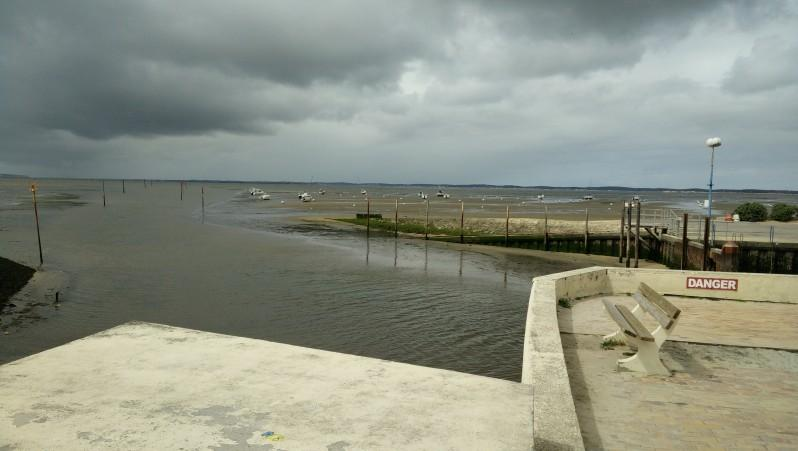 Wind report Andernos - Le Betey - France (33) 2016-04-26 10:00:00
