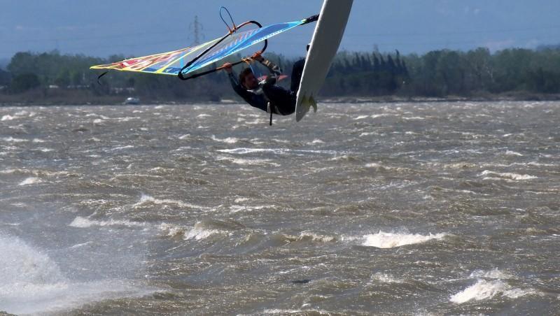 Wind report Le Barcarès - Cap Coudalère  - France (66) 2016-05-02 17:00:00