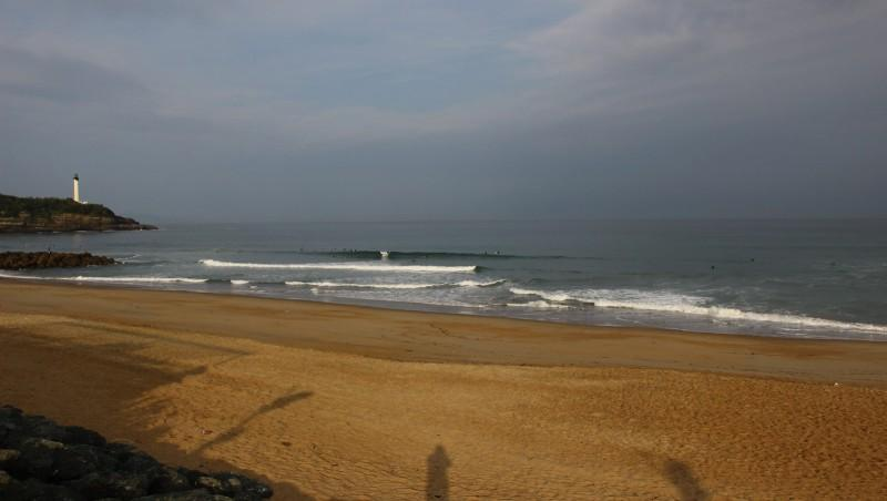 Surf report Anglet Surf Club - France (64) 2016-05-18 09:00:00
