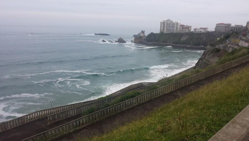 Surf report Côte des Basques - France (64) 2016-05-25 07:00:00